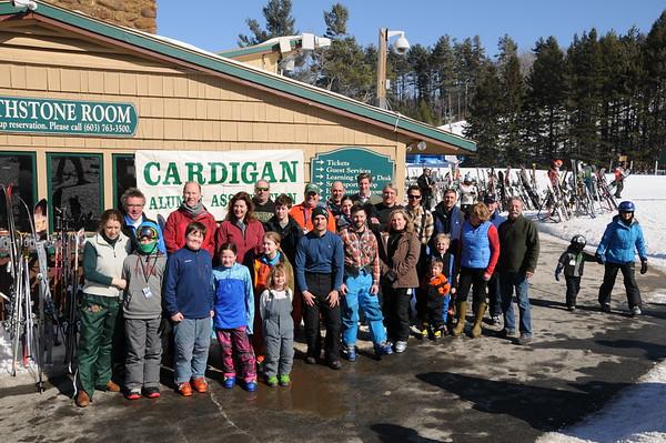Alumni Winter Weekend Skiing 2015