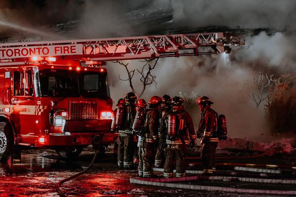 January 31, 2019 - 5th Alarm - 31 Glen Watford Dr.