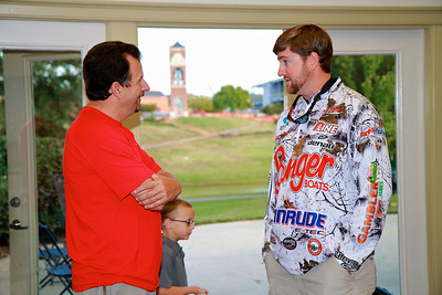 Matt Arey visits GWU Fishing Club