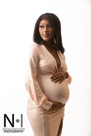 Moya & Yakuba Maternity Session