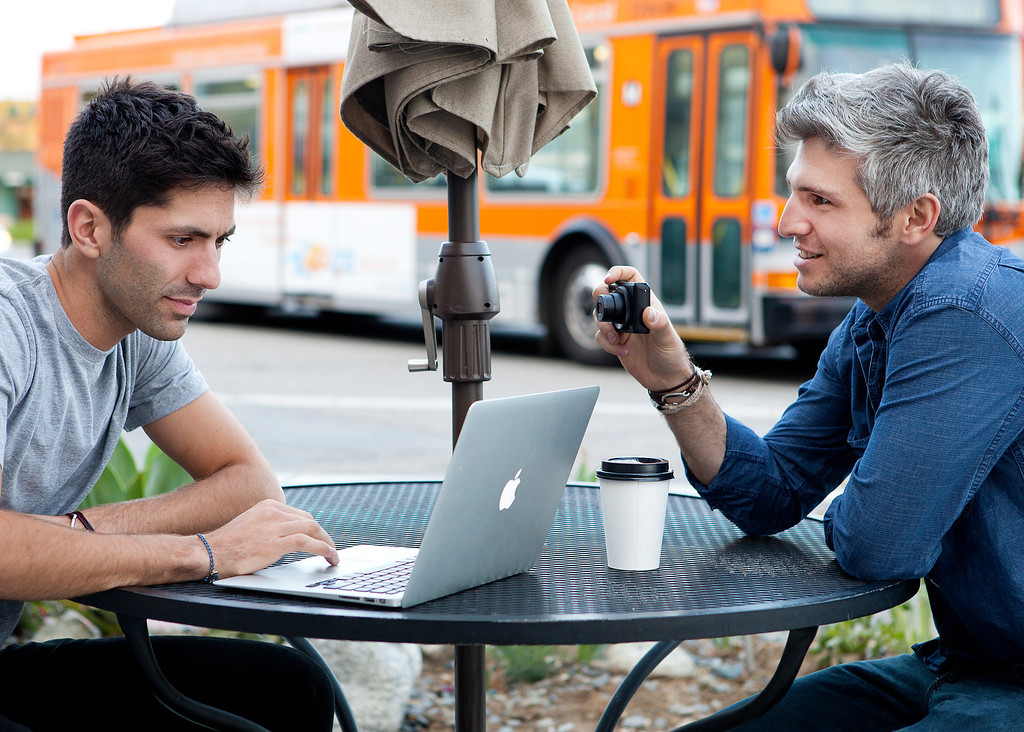 """. Nev Schulman and Max Joseph in MTV\'s \""""Catfish: The TV Show\"""" Season Two. (Photo provided by MTV)"""