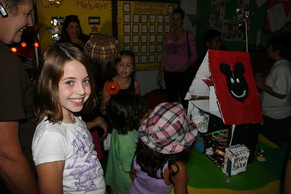Halloween with grand kids