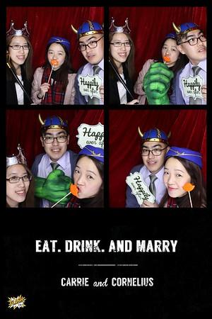 Carrie & Corn Wedding 31st Jan 2015