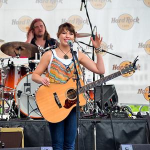 Caroline Kole at CMA Fest 2014