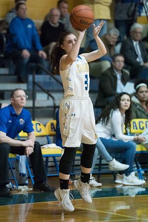 Rosary girls basketball vs. Aurora Central Catholic