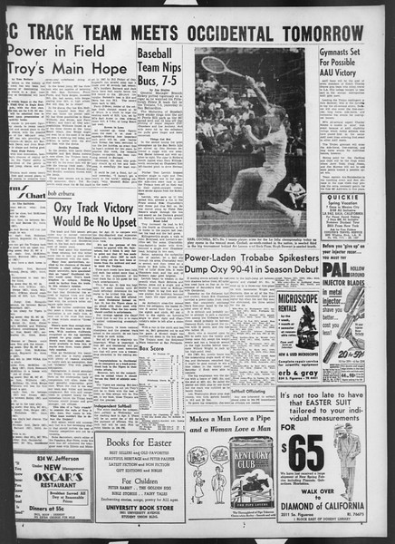 Daily Trojan, Vol. 42, No. 93, March 16, 1951