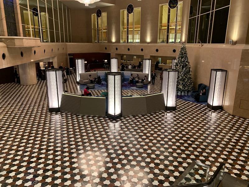 Lobby of Hyatt Regency Tokyo