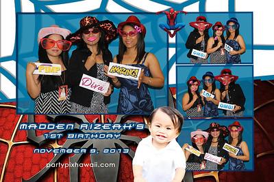 Madden's 1st Birthday (Multi-Photo Collage)