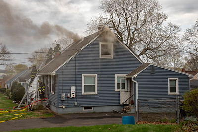 Grafton Rd. Fire (Hamden, CT) 4/19/19