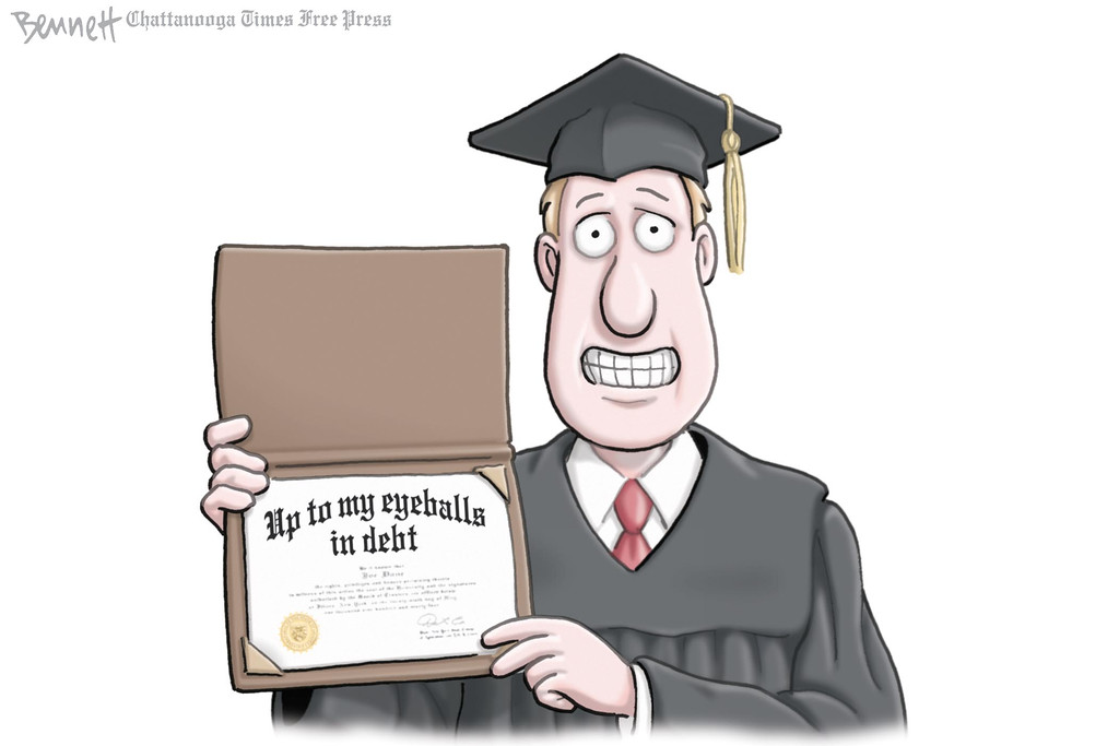 . Clay Bennett / Chattanooga Times Free Press