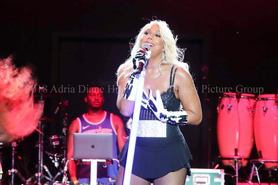 Tamar Braxton, live at the Dell Music Center in Philadelphia