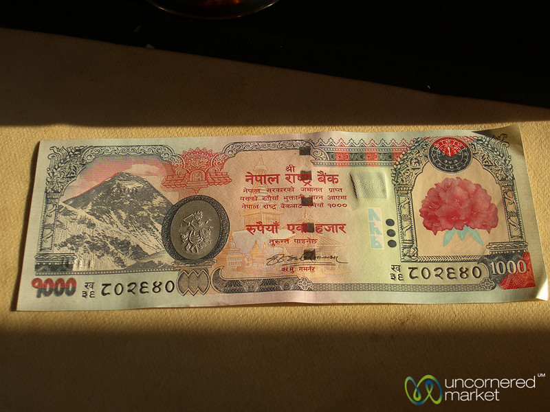 Beautiful Currency  - Annapurna Circuit, Nepal