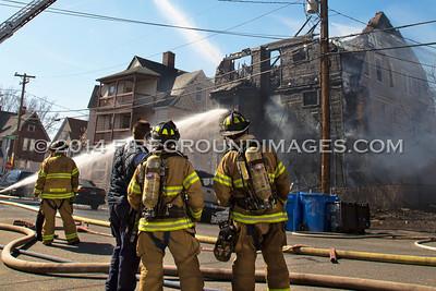 Hillside Ave. Fire (Waterbury, CT) 4/10/14