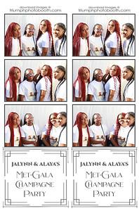 7/18/20 - Jalynn & Alaya's Met-Gala Champagne Party
