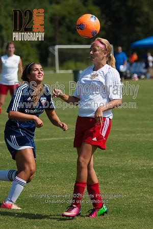 URYSA GIBSONVILLE LADY REDS vs GUSA U18 G RED - U17/18 Girls 8/16/2014