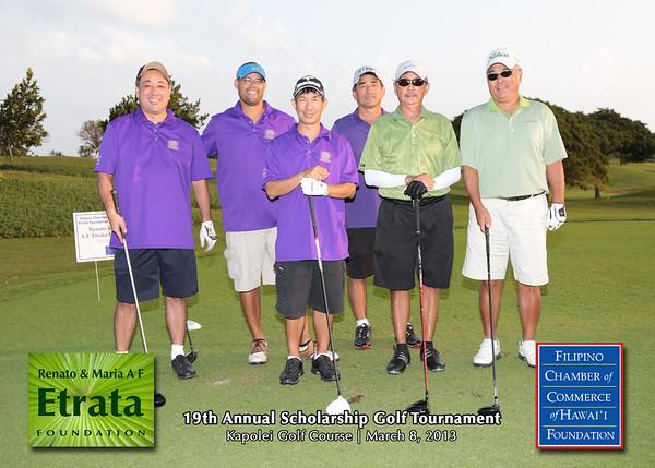 FCCHF 19th Annual Golf Tournament (Team Portraits)