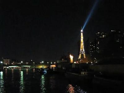 Eiffel Tower Sparkling