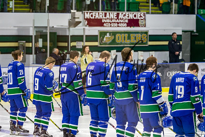 Canucks vs Okotoks Game 2 March 11, 2016