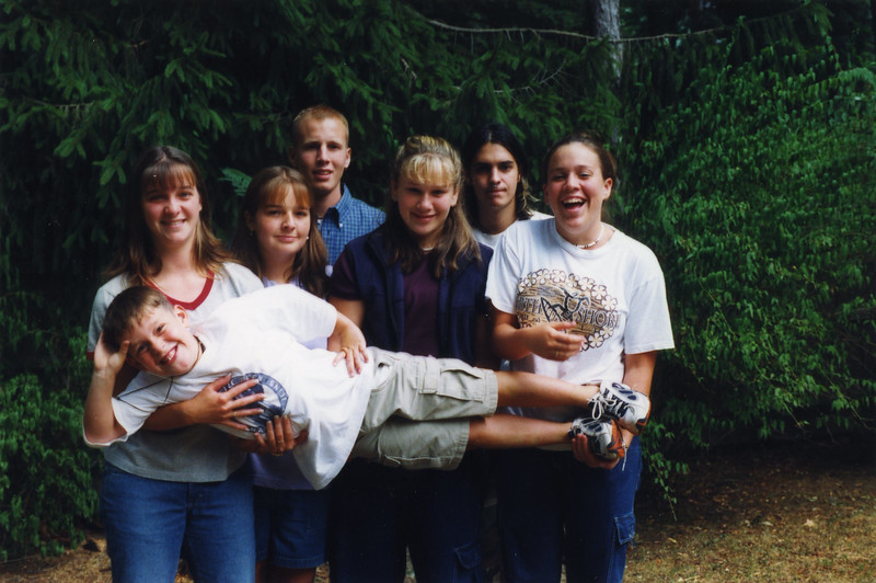 1999 Aug Jim, Peg & Family Visit