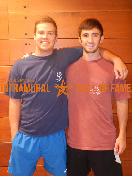 SPRING RACQUETBALL Men's A Doubles Champion  Fat and Slow  Paul Wagner & Danny Davis
