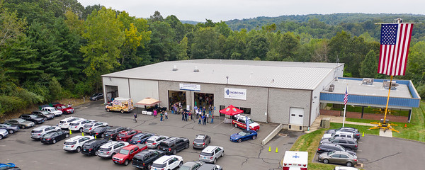 Aerial Views of Norcom CT's 2019 Customer and Employee Appreciation Day - CEAD (Naugatuck, CT) 9/12/19