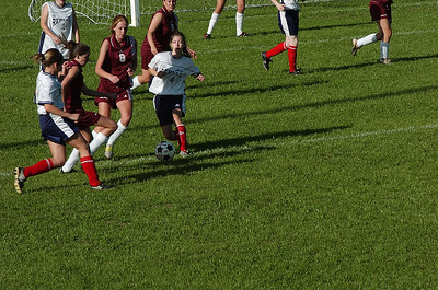 Girls Soccer 4/14/05