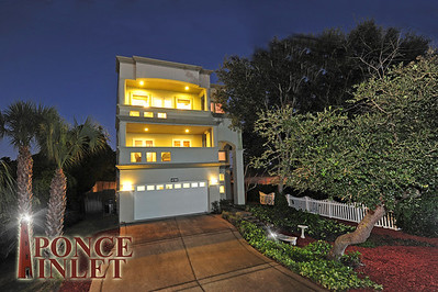 4739 S. Peninsula | Architectural Contemporary Home in Ponce Inlet