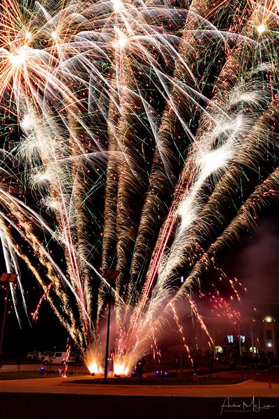 Sikh Temple Fireworks
