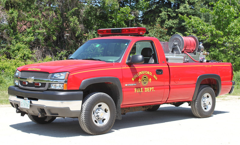 Forestry 1   2003 Chevy/Kimtek   160 Gallons