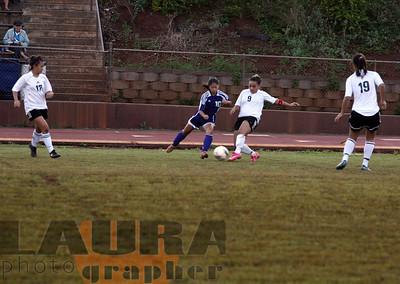 mililani trojans senior soccer 1-14-09