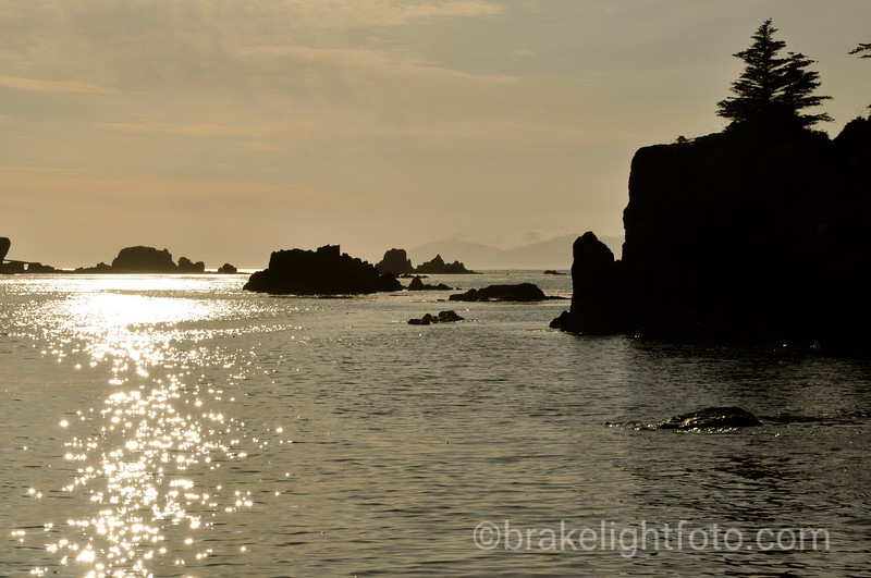 Sunset off Spring Island