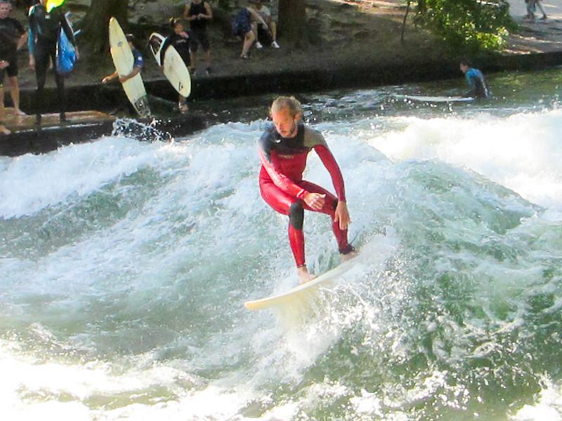 Surfing in Munich?  Yep.