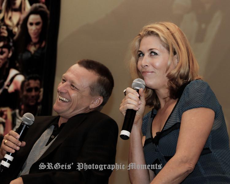 Michael Hurst & Jennifer Ward-Lealand Xena Con 2011