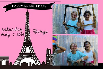 Darya Grey 9th Birthday Party