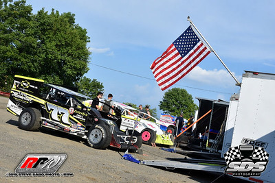 Grandview Speedway - 8/3/19 - Steve Sabo