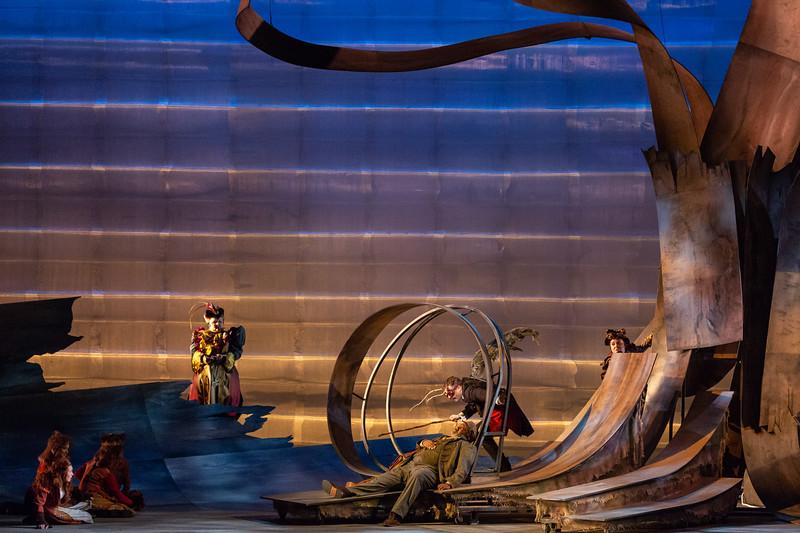 """The Glimmerglass Festival's 2018 production of Janáček's """"The Cunning Little Vixen."""" Photo: Karli Cadel/The Glimmerglass Festival"""