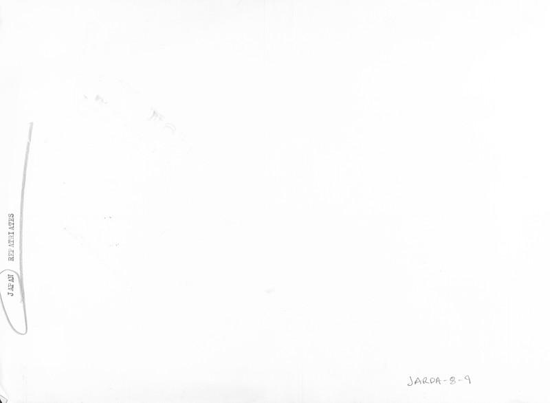 """First Aid for Enoshima Maru Survivors"" -- caption on photograph"
