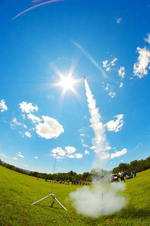 NASA Summer of Innovation Rocket Launches