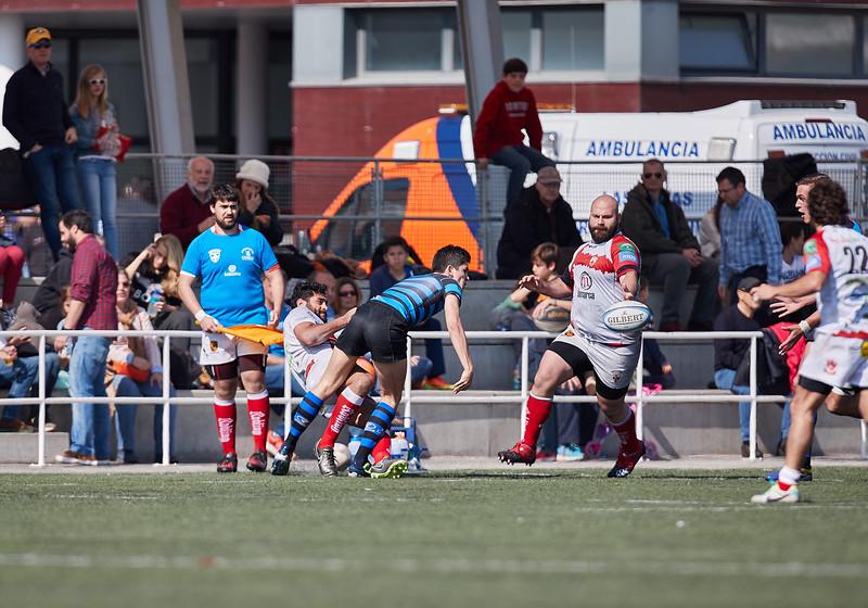 I.Industriales A vs Unión Rugby Almeria: 23-33