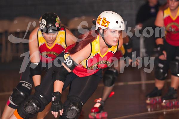 2012.10.07 - Tulsa Derby Brigade v Crossroads City Derby Sucias