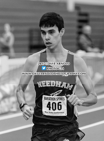 1/19/2017 - Boys & Girls Varsity Indoor Track - Needham