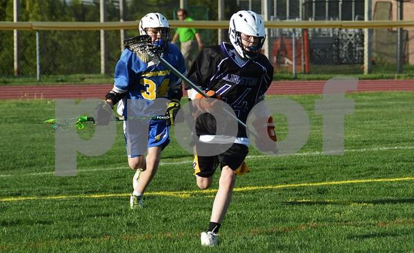 Ellington Senior Boys vs. Vernon 051315