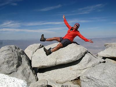San Jacinto Peak 10,834'  4-29-15