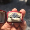 3.43ctw Emerald Cut Diamond 5-Stone Ring by Leon Mege, GIA F SI1 32