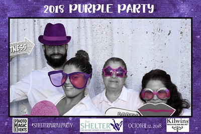 Shelter for Abused Women Next Generation Purple Party 2018