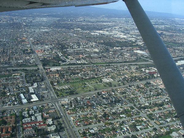 Flight to Santa-Rosa