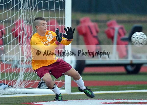 Varsity Soccer Dexter vs Mason