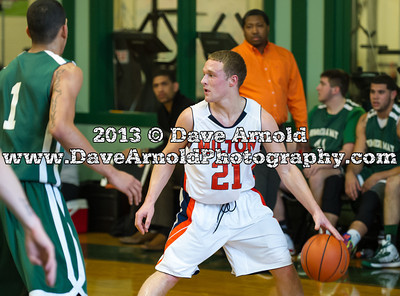1/30/2013 - Boys Varsity Basketball - Milton vs Brimmer & May