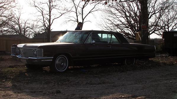 December 29, 2006:  1968 Imperial in Camdenton, Missouri .  .  .