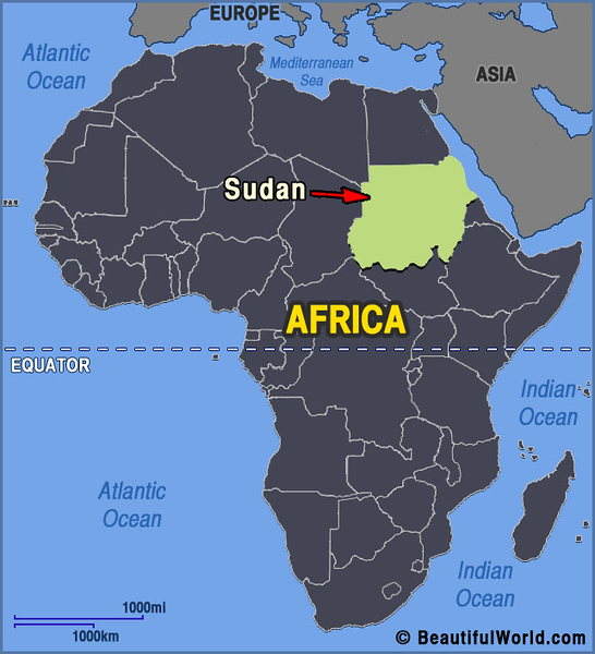 001_Sudan. One of Africa biggest country. Modern Sudan is situated on the site of the ancient civilisation of Nubia, which predates Pharaonic Egypt.jpg